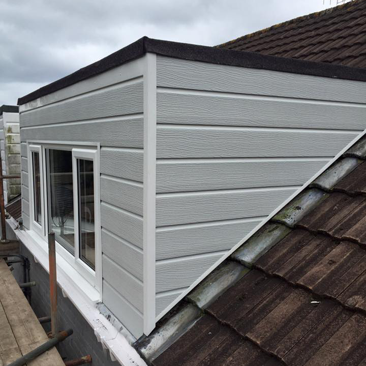 Loft Extension Cladding
